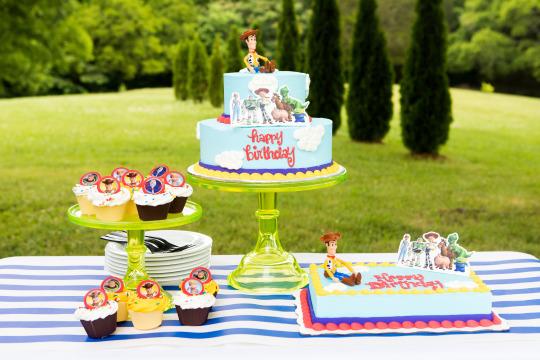 walmart toy story cake