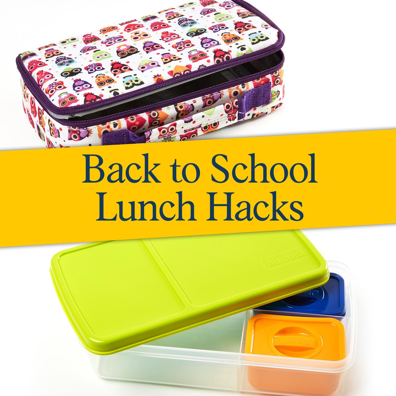back to school lunch hacks