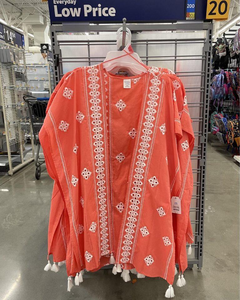 Time And True Coral Kimono