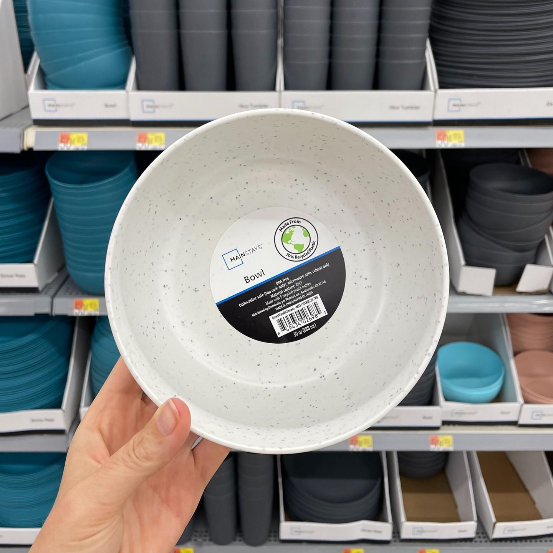 BPA Free Mainstays Plastic Dishes