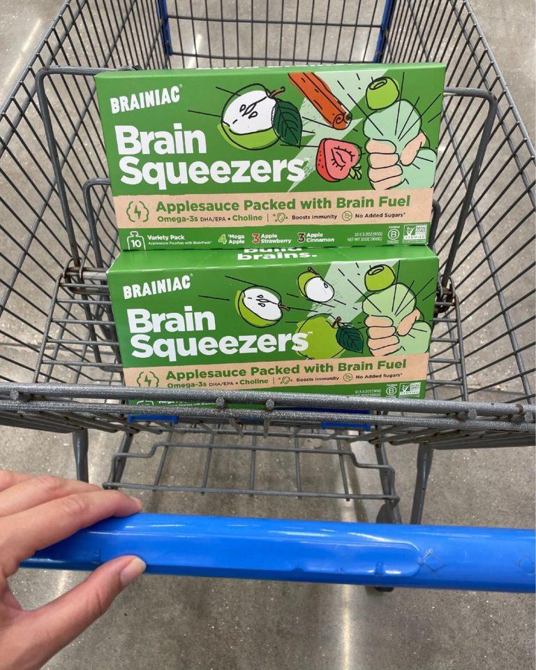Brainiac Brain Squeezers Applesauce
