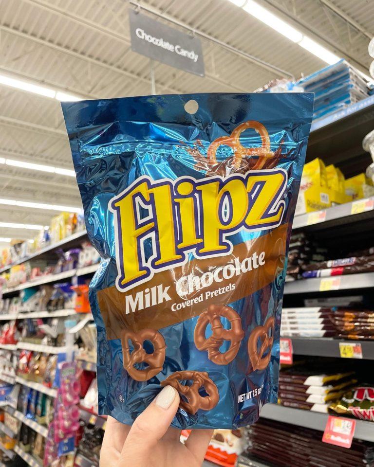 Flipz Milk Chocolate Covered Pretzels Giveaway