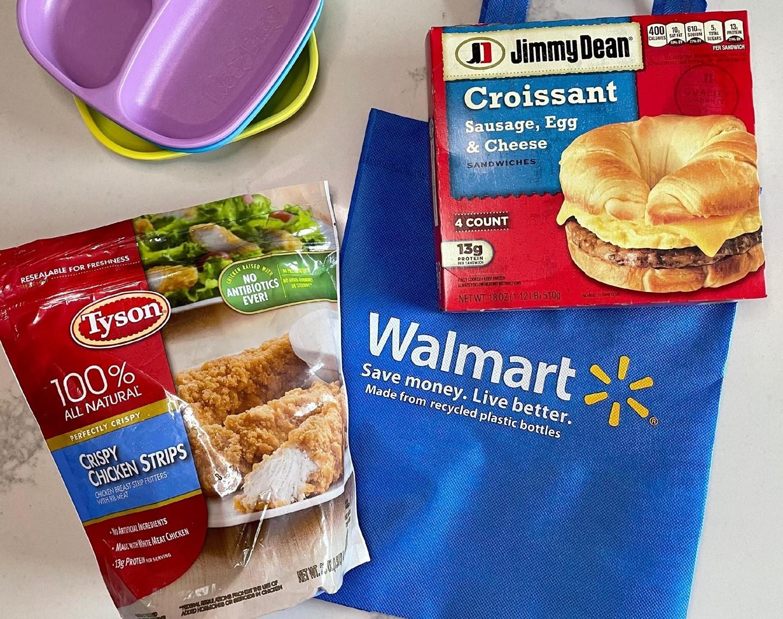 Jimmy Dean Croissant & Tyson Chicken Strips