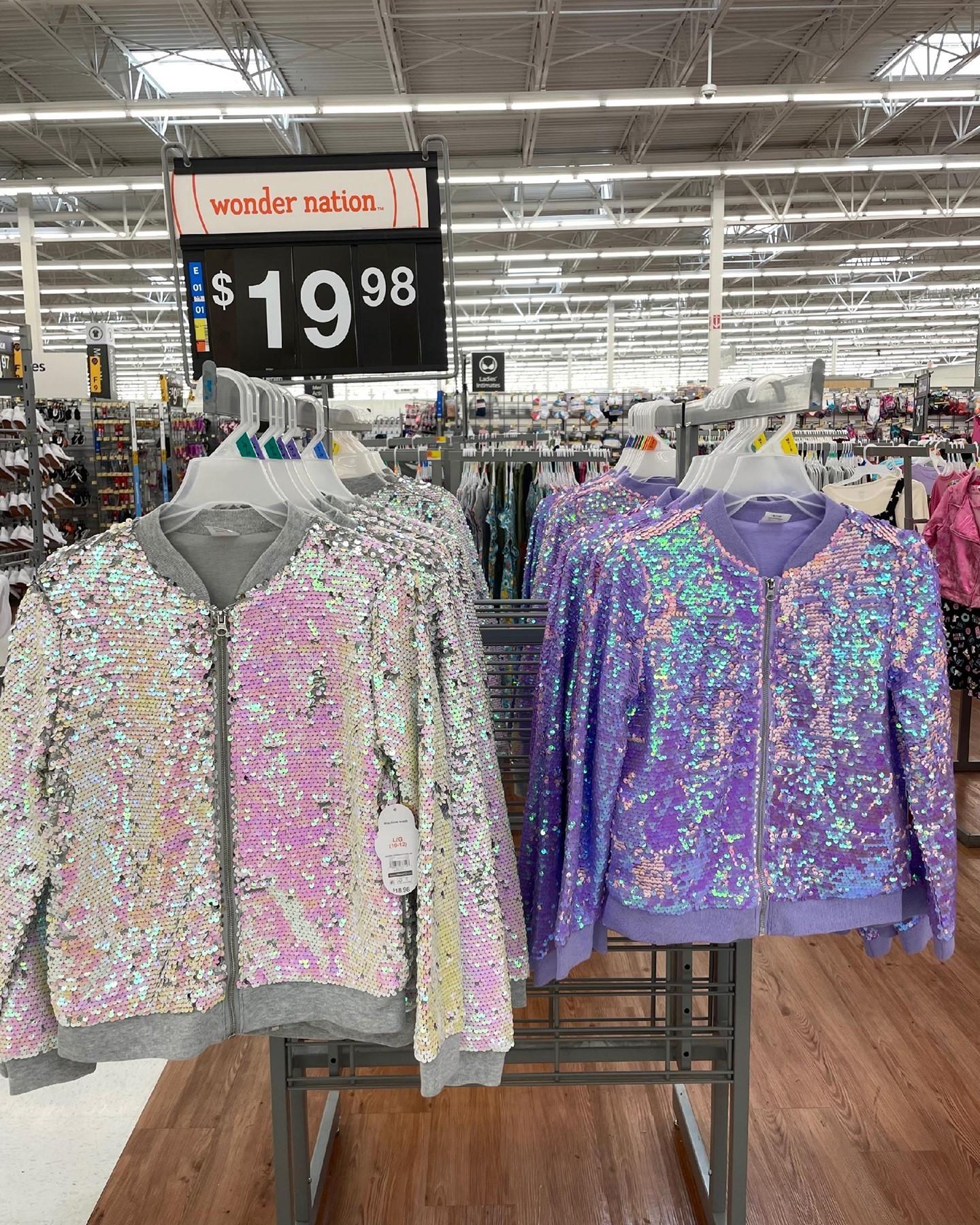 Iridescent Sequins Jacket by Wonder Nation
