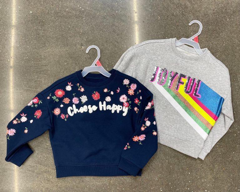Wonder Nation Sweatshirts