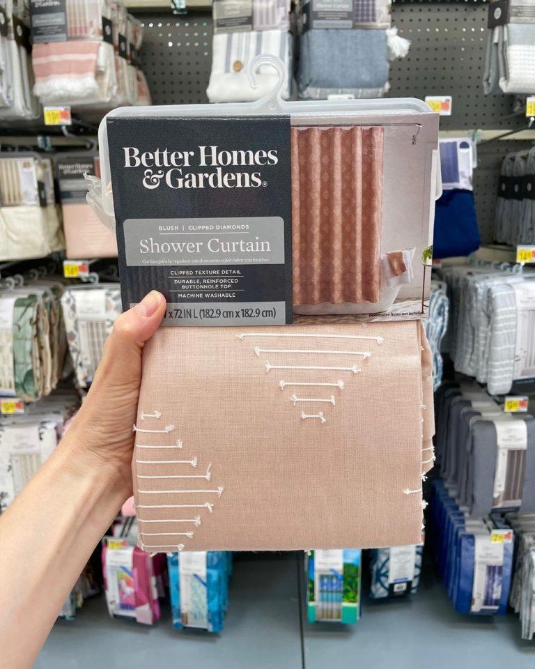 Better Homes & Gardens Shower Curtain