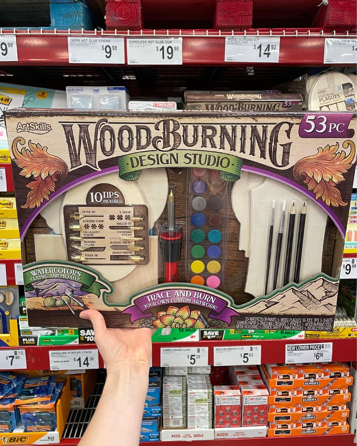 Wood Burning Design Studio Set