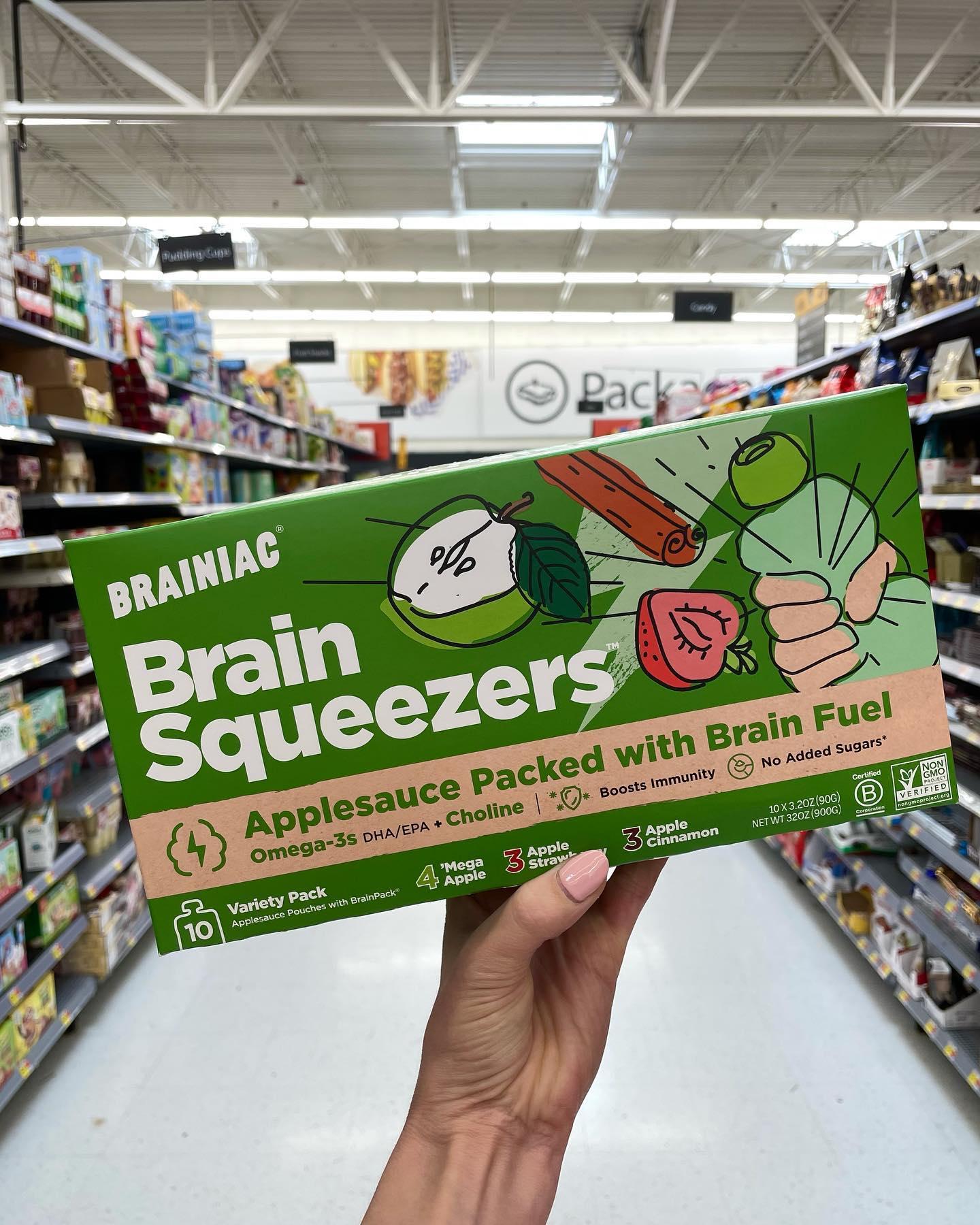 Brainiac Applesauce Back to School Giveaway