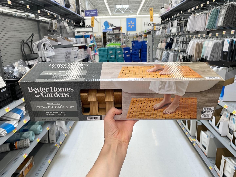 Better Homes & Gardens Step-Out Bath Mat