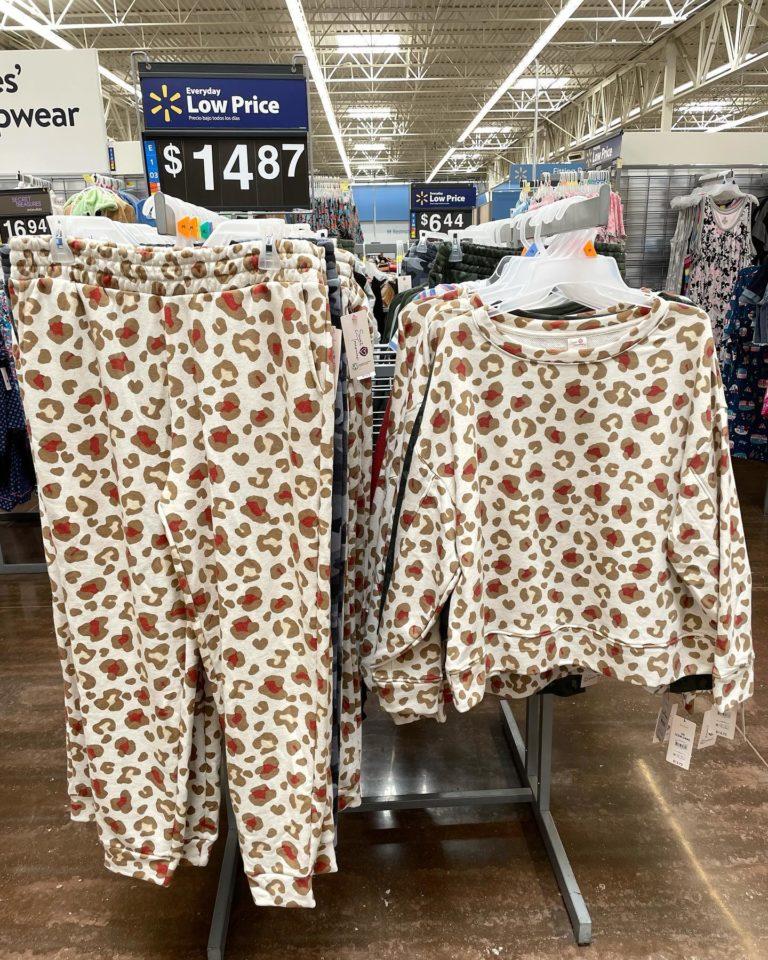 Leopard Print Loungewear
