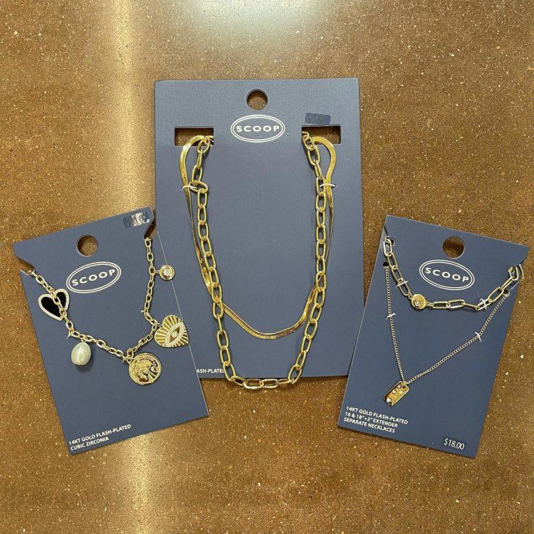 Necklace Scoop Jewelry