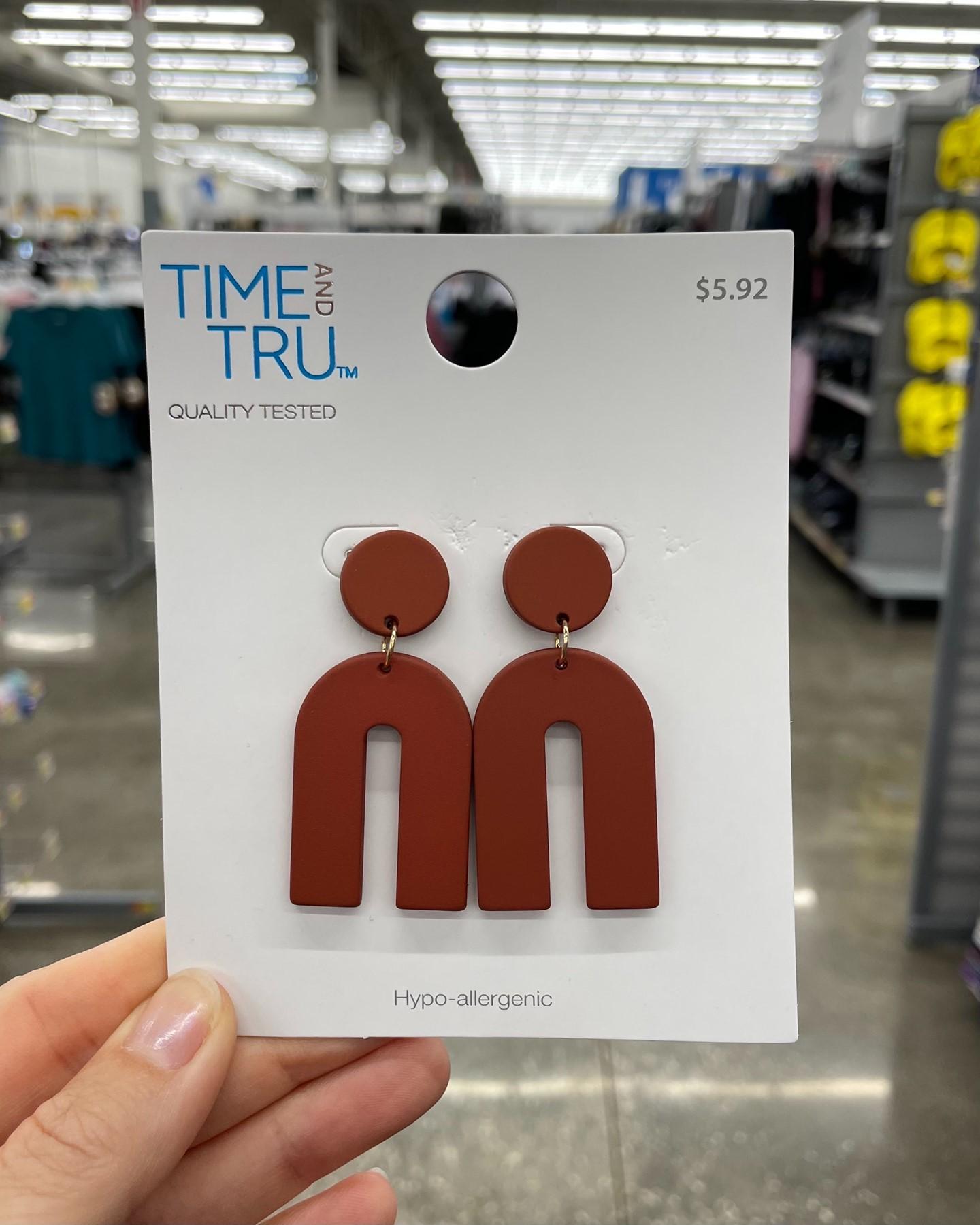 Time and Tru Quality Tested U Earrings